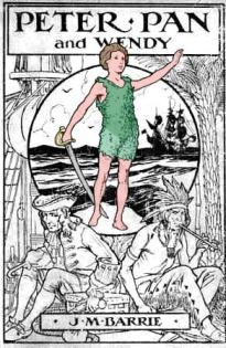 Sir James Matthew Barrie Peter_pan_1915_cover_2