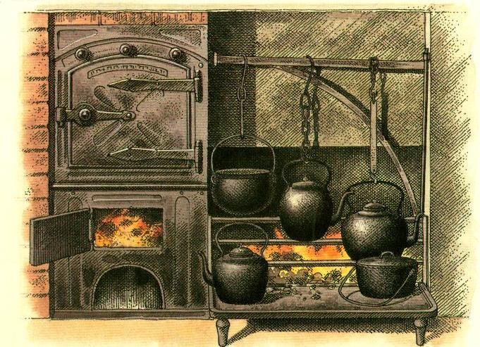 Cocina for Utensilios de cocina antiguos con nombres