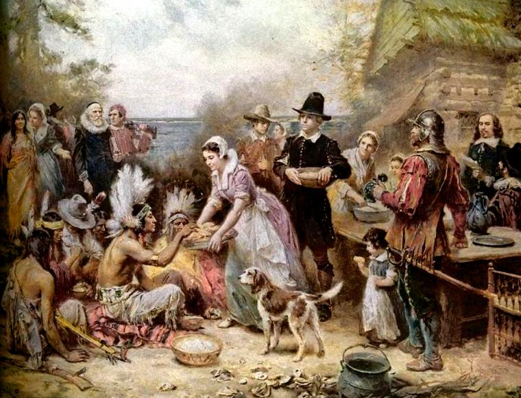 the_first_thanksgiving_jean_louis_gerome_ferris