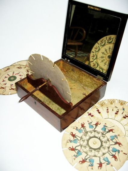 English Phenakistoscope, c. 1835