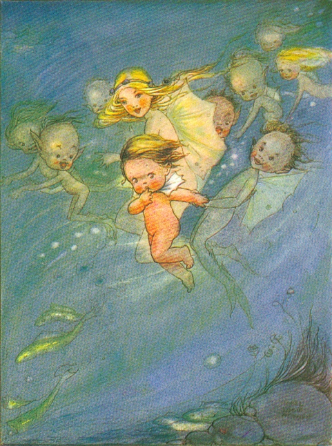 The Water Babies by Mabel Lucy Attwell