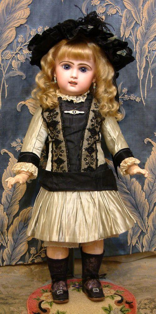 Bebe Jumeau Antique Doll in Fabulous