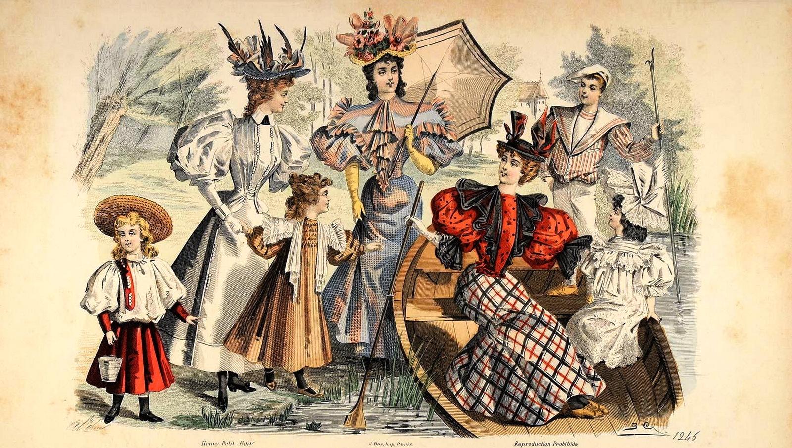 The Scandal Of Season: La moda de la Mujer Victoriana