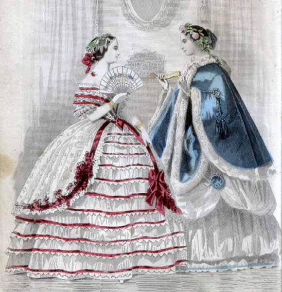 Moda Victoriana: Ropa Femenina