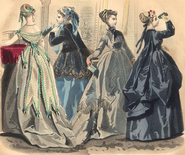 moda victoriana ropa femenina