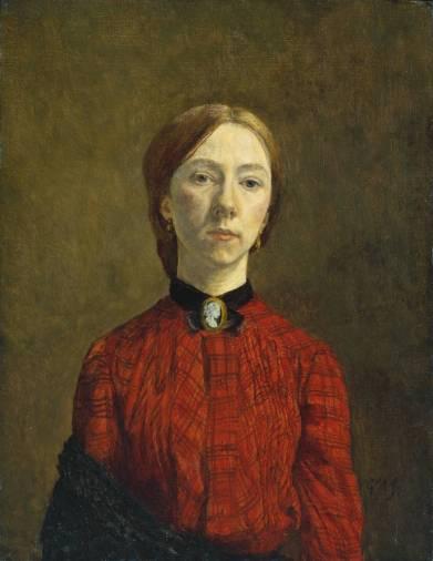 Self-Portrait 1902 by Gwen John 1876-1939