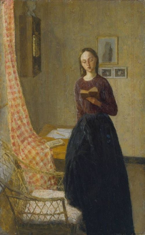 A Lady Reading by Gwen John
