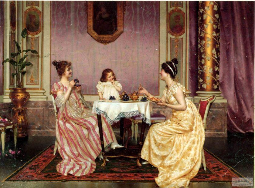 Resultado de imagen de fiesta del te epoca victorianaç