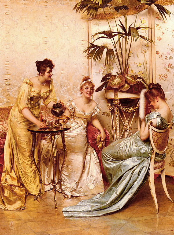 Soulacroix_Frederic_The_Tea_Party