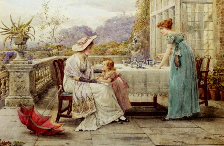 George Goodwin Kilburne Afternoon Tea