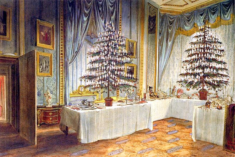 VictorianChristmasTree1850