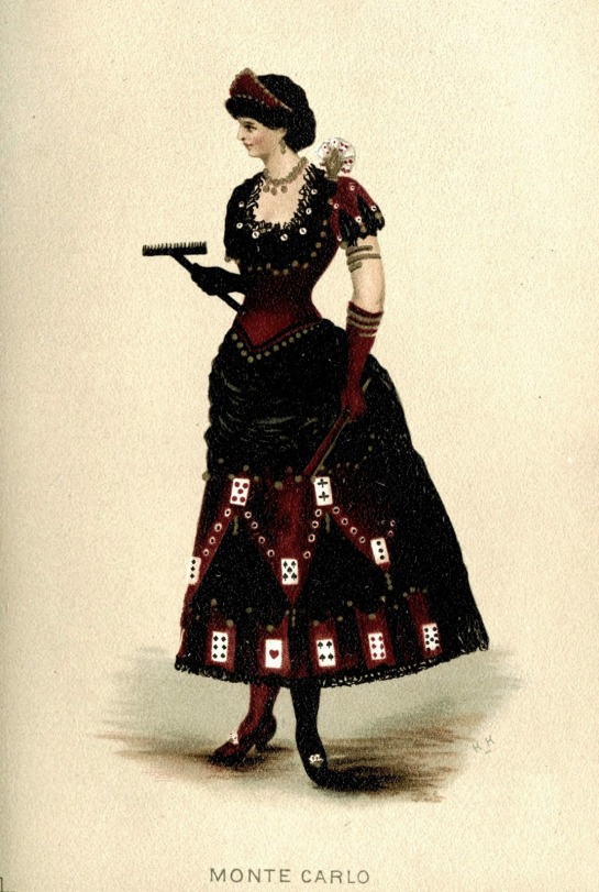fancy dress cards