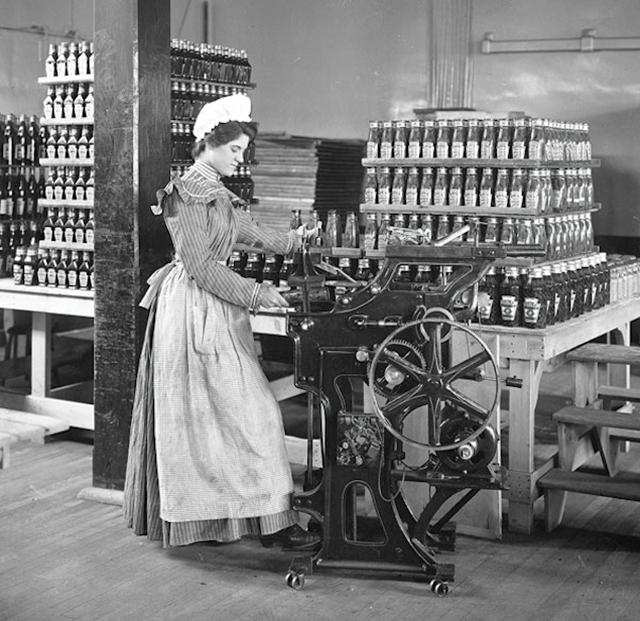 1897 woman at work