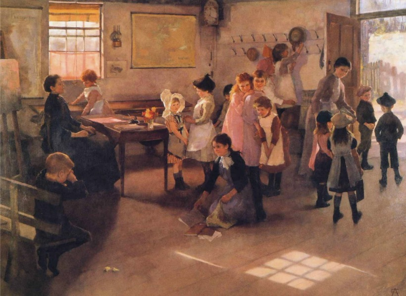 elizabeth-armstrong-forbes-school-is-out-1899