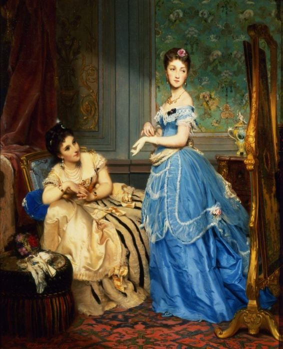 getting-dressed-1869-by-charles-edouard-boutibonne