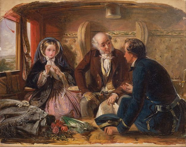 756px-Abraham_Solomon_-_First_Class_-_The_Meeting._'And_at_first_meeting_loved.'_-_Google_Art_Project