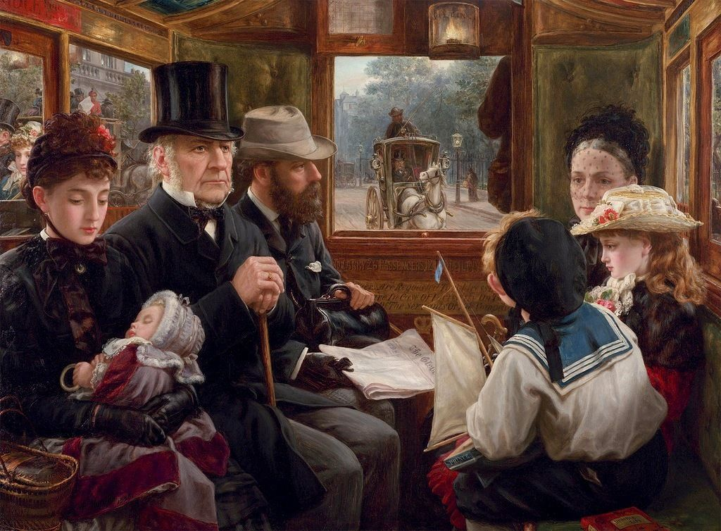 Alfred Morgan - An Omnibus Ride to Piccadilly