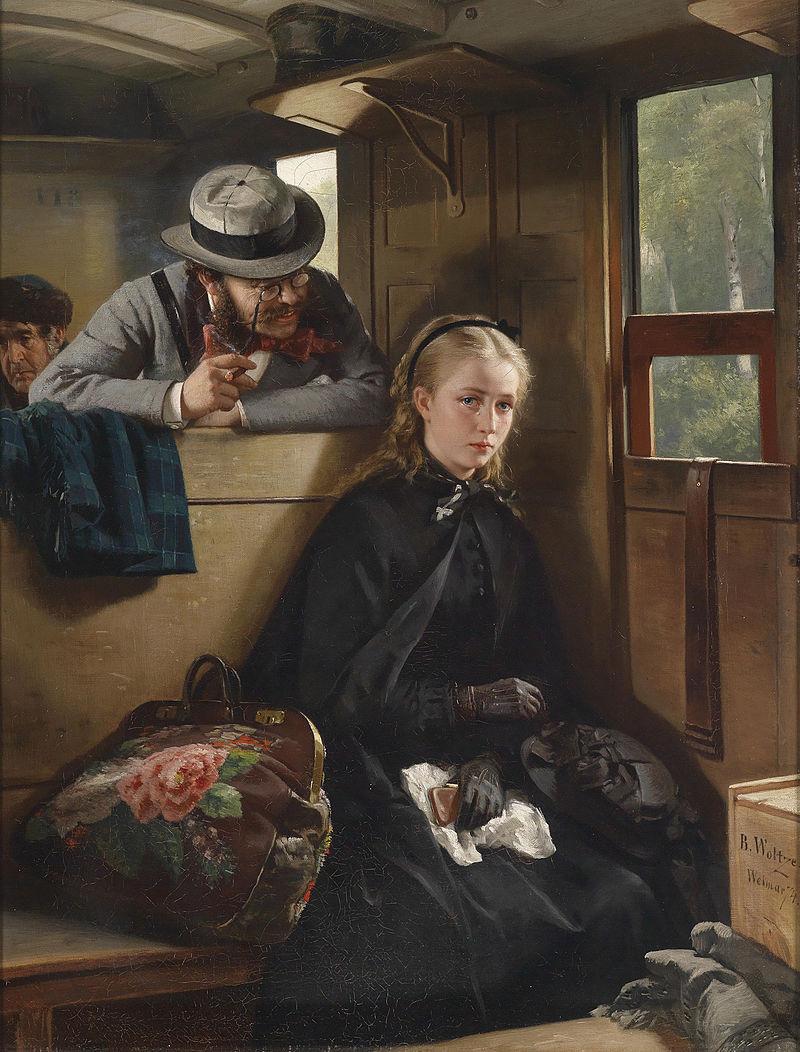 Berthold_Woltze_-_The Irritating gentleman