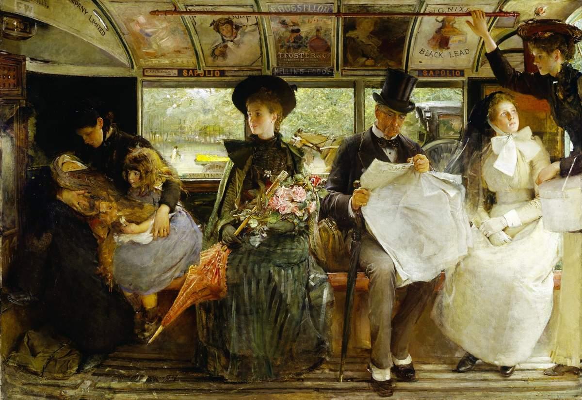 the-bayswater-omnibus george elgar hicks 1895