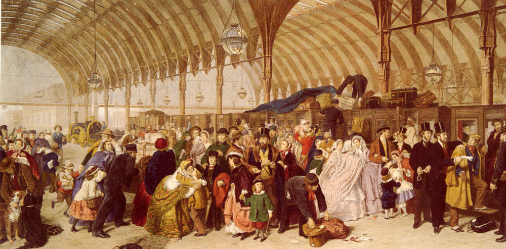 William_Powell_Frith_The_Railway_Station