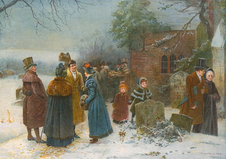 christmas-morning-neighbourly-greetings-and-doles-to-the-poor-and-needy-edward-frederick-brewtnall